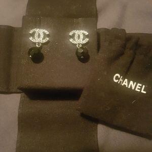 Authentic Chanel dangle earrings